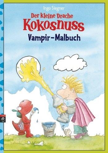 Malbuch Vampir Der Kleine Drache Kokosnuss