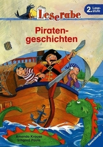 Leserabe Softcover 2. Lesestufe Piratengeschichten Ravensburger