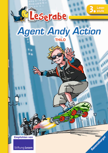 Leserabe 3. Lesestufe Agent Andy Action Ravensburger